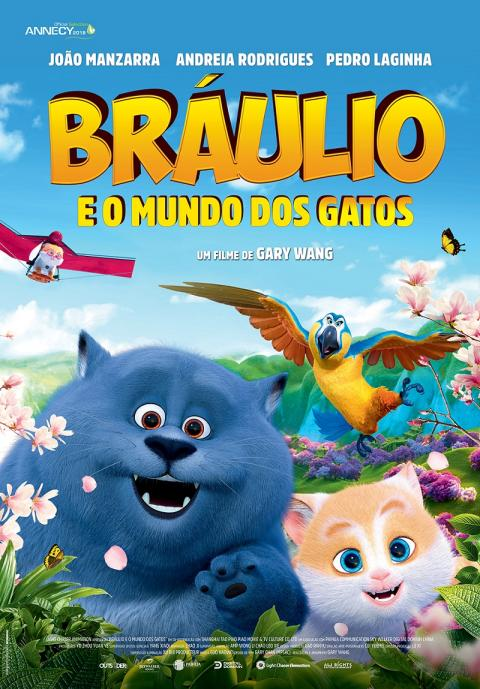 Braúlio e o Mundo dos Gatos – Cats and Peachtopia